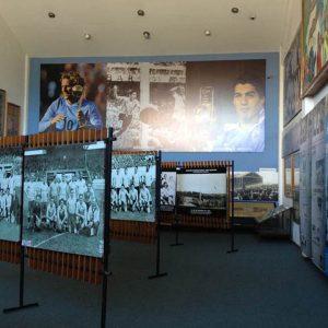 Visita ao Museu do Futebol no Estádio Centenário Montevideo