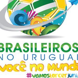 Brasileiros no Uruguai e você no Mundial