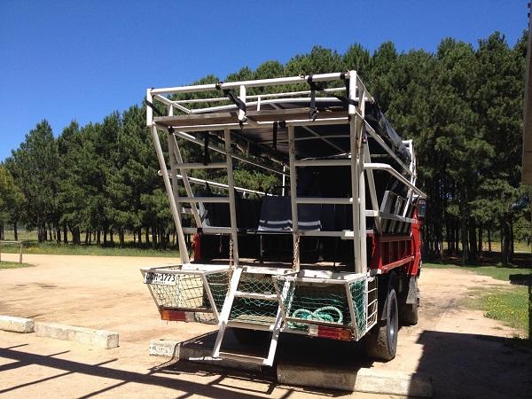 cabo polonio uruguai caminhão 4x4 1