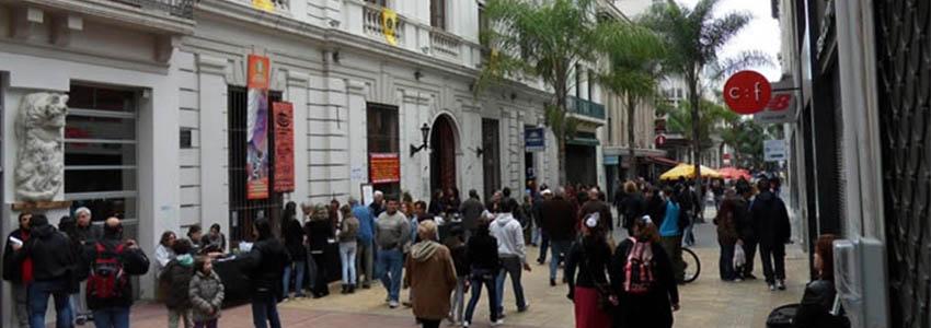 Peatonal Sarandi - Montevidéu   Uruguai