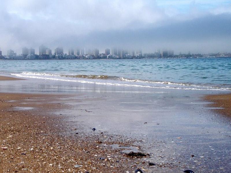 Praia Mansa em Punta del Este