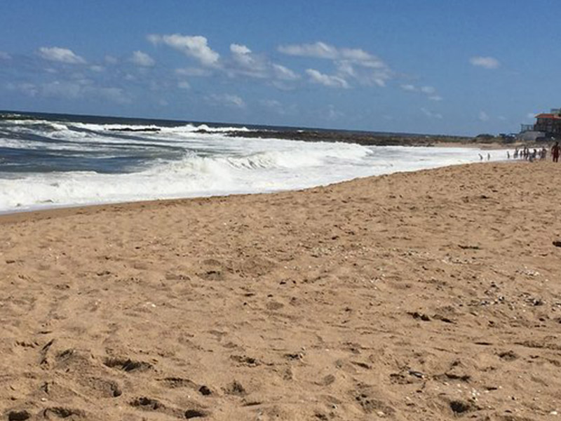 Praia Montoya em Punta del Este