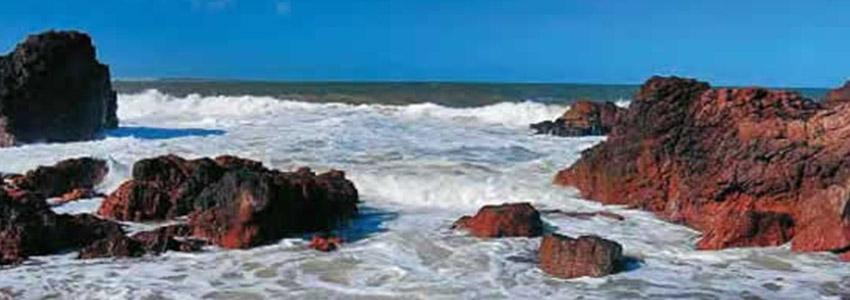 Praia de Chiringo e Las Grutas - Punta Del Este   Uruguai