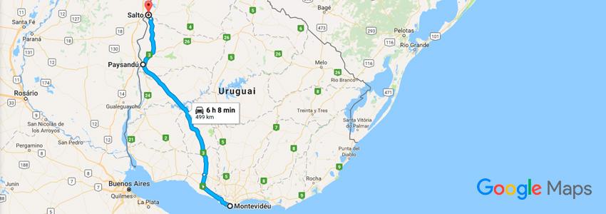 Como chegar às Termas do Uruguai de carro