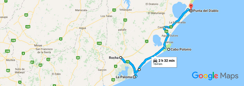 Como chegar em Rocha de carro - Uruguai