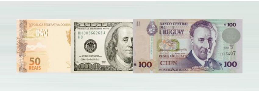 Dinheiro no Uruguai