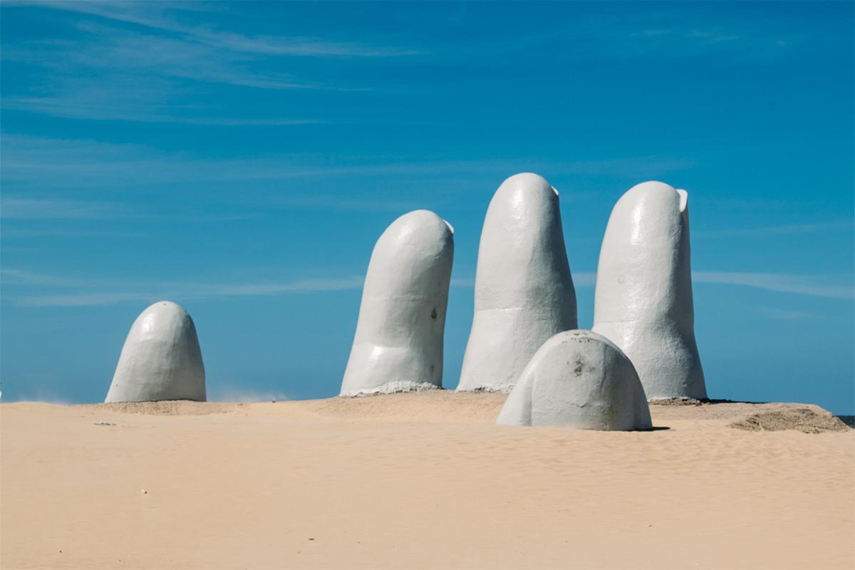 O que fazer em Punta del Este: Los Dedos La Mano