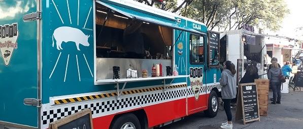 Food Truck Montevideo Uruguai Comida de Rua Feira Gastronômica Comer Barato Montevidéu