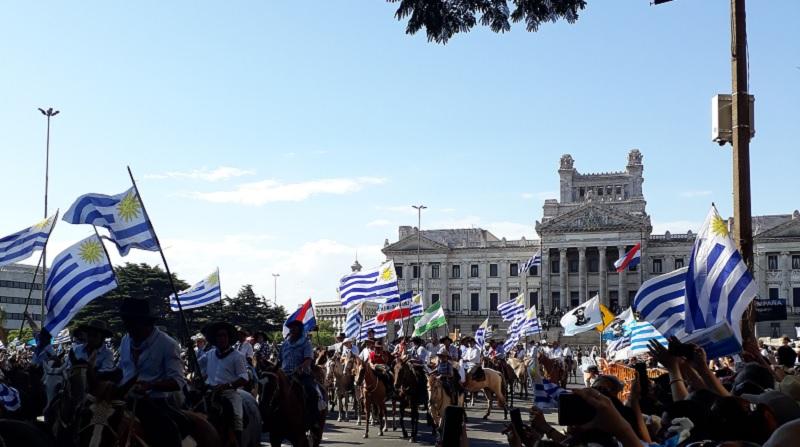 A posse do Presidente do Uruguai Lacalle Pou